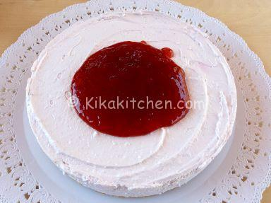 cheesecake con yogurt ai frutti di bosco