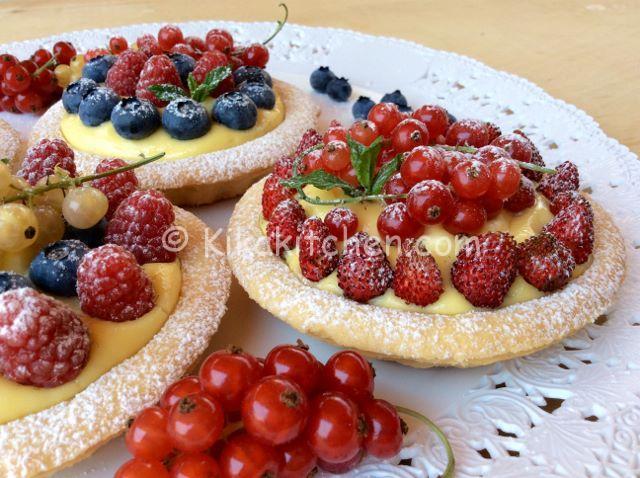 frutti di bosco ricette