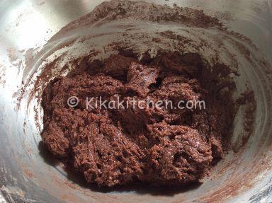 impasto cookies cioccolato e nocciole