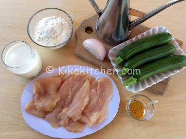 ingredienti straccetti di pollo