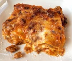 Lasagne al ragù classiche. Ricetta passo passo
