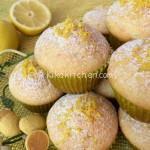 Muffin al limone alti e soffici. Ricetta passo passo