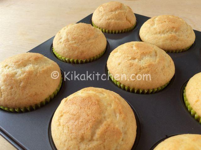 muffin al limone soffici