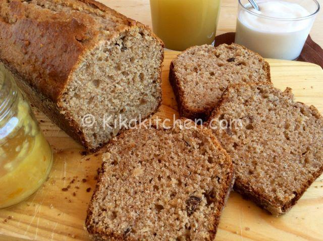 Plumcake integrale allo yogurt. Sano e genuino.
