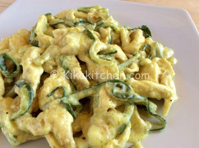 ricetta stracectti di pollo con zucchine
