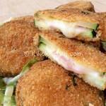 Cordon bleu di zucchine fritte o al forno