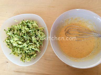 frittelle di zucchine con farina