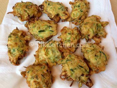 frittelle zucchine ricetta