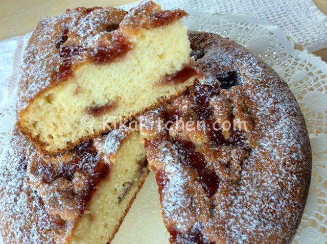 torta con marmellata ricetta