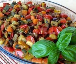 Verdure al forno (ricetta light). Con verdure a scelta