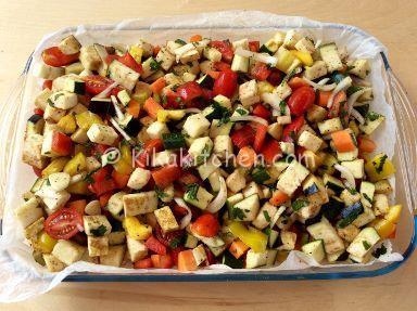 verdure al forno ricetta
