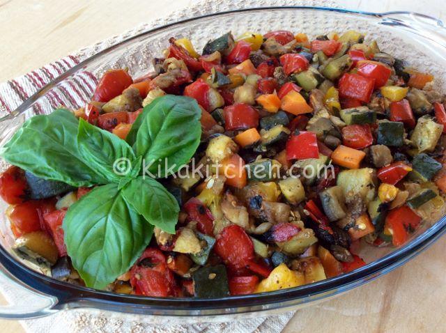 verdure e ortaggi al forno