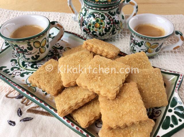 Biscotti con olio di oliva. Ricetta passo passo