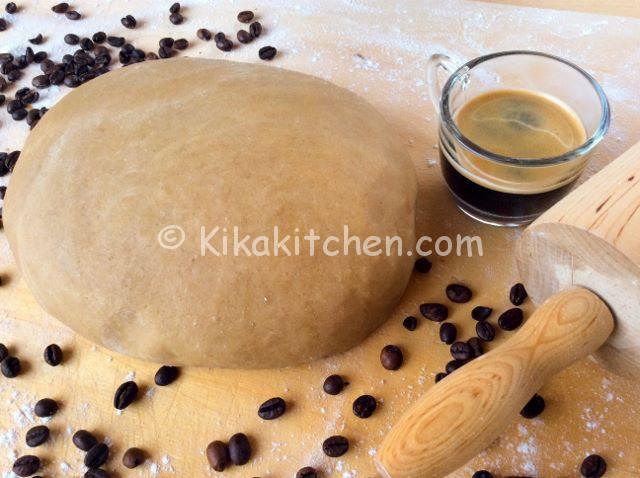 pasta frolla al caffè ricetta facile