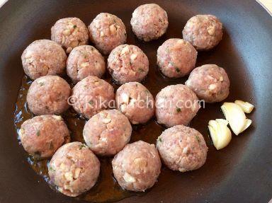 polpette ai funghi porcini ricetta