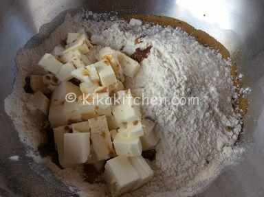 ricetta pasta frolla al caffe