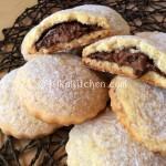 Biscotti con nutella facili e veloci. Ricetta passo passo