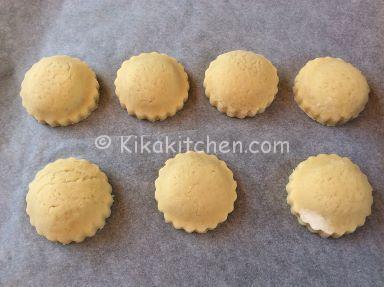 biscotti ripieni con nutella
