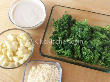 broccoli gratinati in forno ricetta