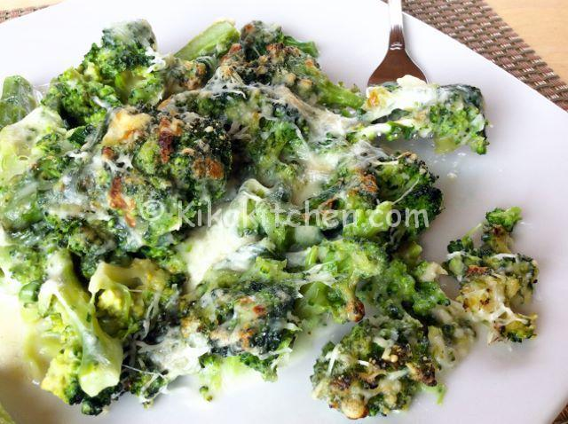 broccoli gratinati in forno