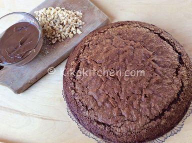 guarnire torta alla nutella