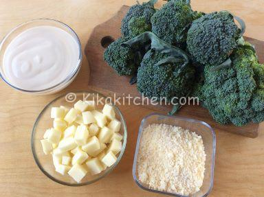 ingredienti broccoli gratinati