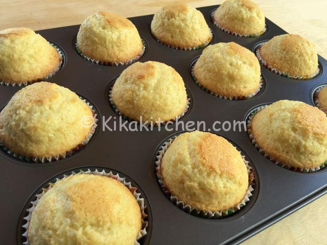 muffin al cocco alti e soffici