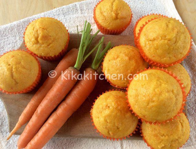 muffin alle carote soffici