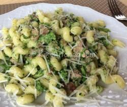 Pasta con broccoli e salsiccia. Ricetta passo passo