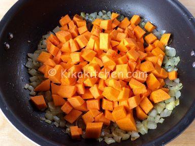 ricetta pasta zucca e porcini