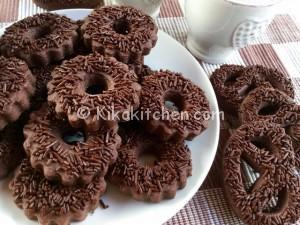 Biscotti al cioccolato facili e veloci. Ricetta passo passo