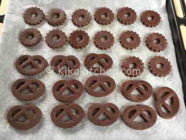 biscotti frolla al cacao