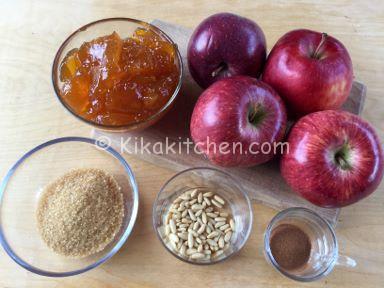 ingredienti crostata marmellata e mele