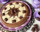 Torta kinder bueno con crema nutkao