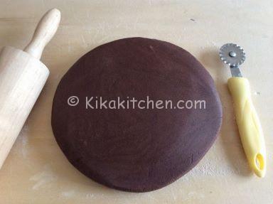 pasta frolla per biscotti al cioccolato