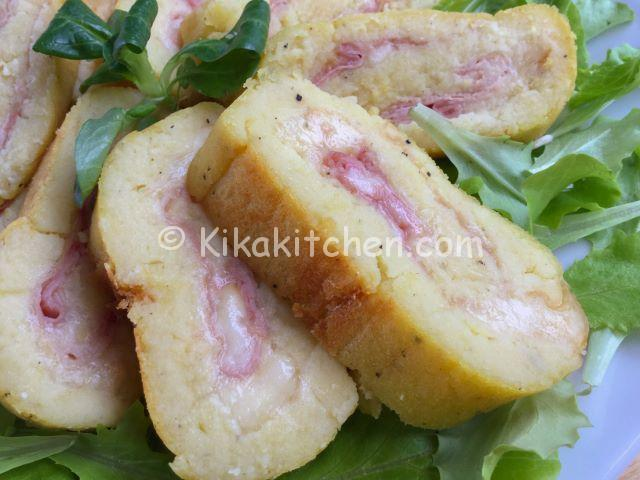 rotolo di patate farcito (al forno)