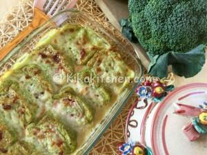 Rotolo di broccoli e patate