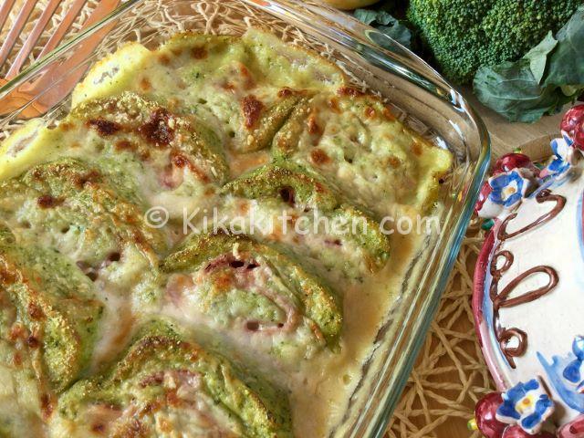 Rotolo di broccoli e patate