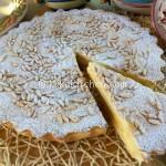 Torta della nonna ricetta classica con crema pasticcera