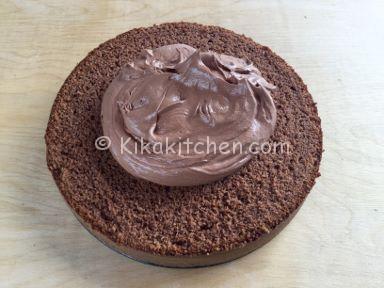 torta ferrero rocher nutella