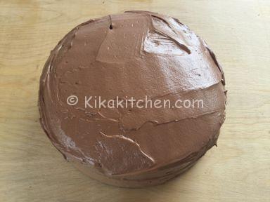 torta ferrero rocher panna e nutella
