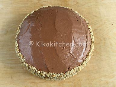 torta rocher con granella