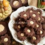 Biscotti occhio di bue al cioccolato. Ricetta passo passo
