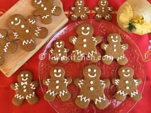 Omini di pan di zenzero (gingerbread). Ricetta originale