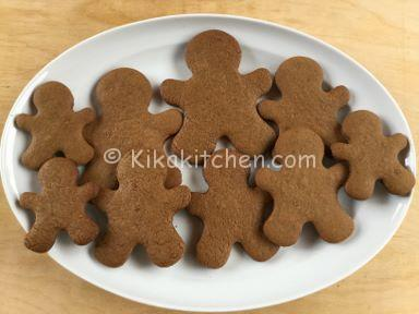omini di pan di zenzero gingerbread