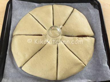 stella di pan brioche ala nutella
