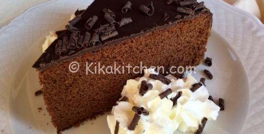 torta con il cioccolato