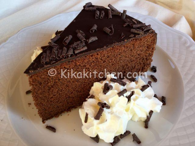 torta al cioccolato soffice e morbida kikakitchen. Black Bedroom Furniture Sets. Home Design Ideas