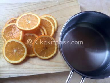come caramellare le arance