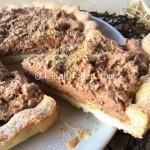 Crostata con pandoro e nutella